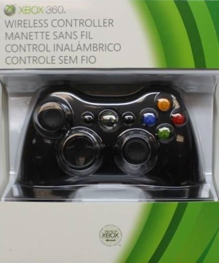 Xbox 360 Wireless Controller Black Microsoft Brand Great Condition Fast Shipping