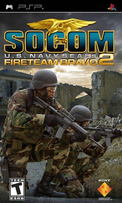 Socom U.S. Navy Seals Fireteam Bravo 2 PSP Complete