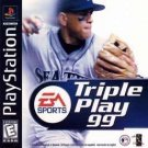 Triple Play '99 PS1 Great Condition Fast Shipping