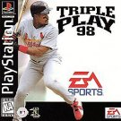 Triple Play '98 PS1 Great Condition Fast Shipping