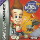 Jimmy Neutron Boy Genius Jet Fusion GBA Fast Shipping
