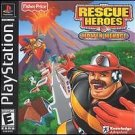 Rescue Heroes Molten Menace PS1 Complete Fast Shipping