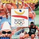 Olympic Gold Barcelona '92 Game Gear Great Condition Fast Shipping