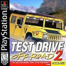 Test Drive Off Road 2 PS1 Great Condition Fast Shipping