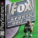 Fox Sports Golf 99 PS1 Great Condition Fast Shipping