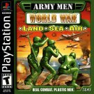 Army Men World War Land, Sea, Air PS1 Great Condition Complete Fast Shipping