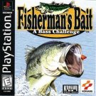 Fisherman's Bait A Bass Challenge PS1 Complete