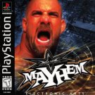 WCW Mayhem PS1 Great Condition Complete Fast Shipping