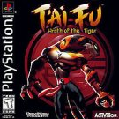 T'ai Fu Wrath Of The Tiger PS1 Great Condition Fast Shipping