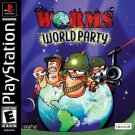 Worms World Party PS1 Great Condition Fast Shipping