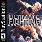 Ultimate Fighting Championship PS1 Great Condition Fast Shipping