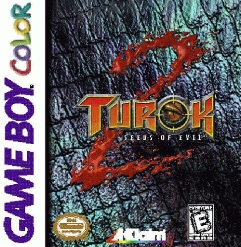 Turok 2 Seeds of Evil Gameboy Color Great Condition