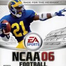 NCAA Football 06 Xbox Great Condition Complete Fast Shipping