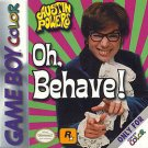 Austin Powers Oh Behave! Gameboy Color Fast Shipping