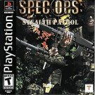 Spec Ops Stealth Patrol PS1 Great Condition