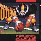 Super Play Action Football SNES Great Condition
