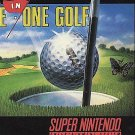 Hal's Hole in One SNES Great Condition Fast Shipping