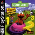 Elmo's Number Journey PS1 Great Condition Fast Shipping