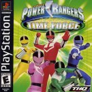 Power Rangers Time Force PS1 Great Condition Fast Shipping
