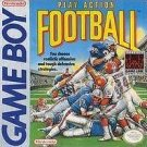 Play Action Football Gameboy Great Condition