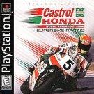 Castrol Honda Superbike Racing PS1 Mint Condition