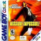 Mission Impossible Gameboy Color Great Condition Fast Shipping