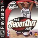 NBA Shootout 2003 PS1 Great Condition Complete