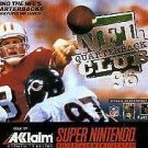 NFL Quarterback Club 96 SNES Great Condition