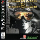 Command & Conquer PS1 Great Condition Fast Shipping