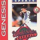 World Series Baseball '95 Sega Genesis Great Condition Fast Shipping