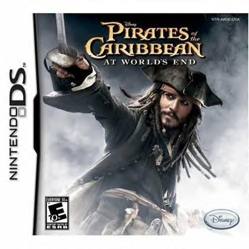 Pirates Of The Caribbean At World's End Nintendo DS Great Condition Complete
