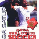Sega Worldwide Soccer '97 Sega Saturn Great Condition Fast Shipping