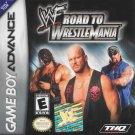 WWF Road To Wrestlemania GBA Great Condition Fast Shipping