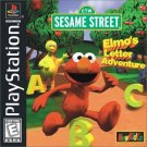 Elmo's Letter Adventure PS1 Great Condition Complete