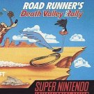 Road Runner Death Valley Rally SNES Great Condition