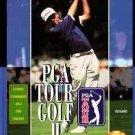 PGA Tour Golf 2 Sega Genesis Great Condition Fast Shipping