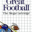 Great Football Sega Master Great Condition Fast Shipping