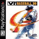 VR Baseball 99 PS1 Great Condition Fast Shipping