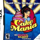 Cake Mania Nintendo DS Great Condition Complete Fast Shipping