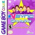 *NSYNC Get to the Show Gameboy Color Great Condition
