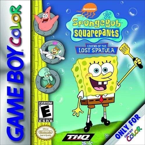 SpongeBob SquarePants Legend Of The Lost Spatula Gameboy Color