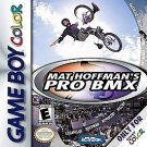 Mat Hoffman's Pro BMX Gameboy Color Great Condition