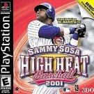 Sammy Sosa High Heat Baseball 2001 PS1 Complete