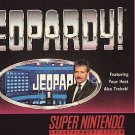 Jeopardy! SNES Great Condition Fast Shipping