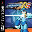 Mega Man X6 PS1 Great Condition Fast Shipping