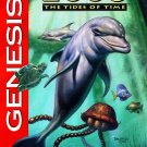 Ecco The Tides Of Time Sega Genesis Great Condition Fast Shipping