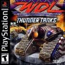 World Destruction League Thunder Tanks PS1 Complete