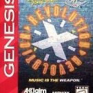 Revolution X Sega Genesis Great Condition Fast Shipping