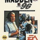 Madden NFL '96 Sega Genesis Great Condition Fast Shipping