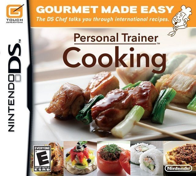 Personal Trainer Cooking Nintendo DS Complete